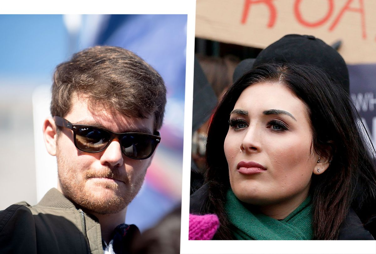 Nick Fuentes and Laura Loomer (Photo illustration by Salon/Getty Images)