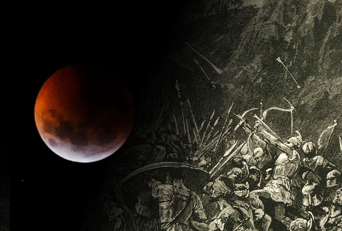 The Moon and the Peloponnesian War (Photo illustration by Salon/Getty Images)