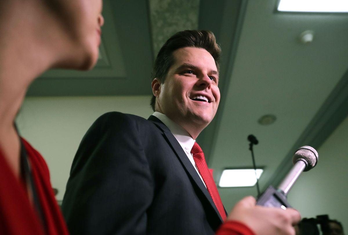 Rep. Matt Gaetz (R-FL) (Chip Somodevilla/Getty Images)