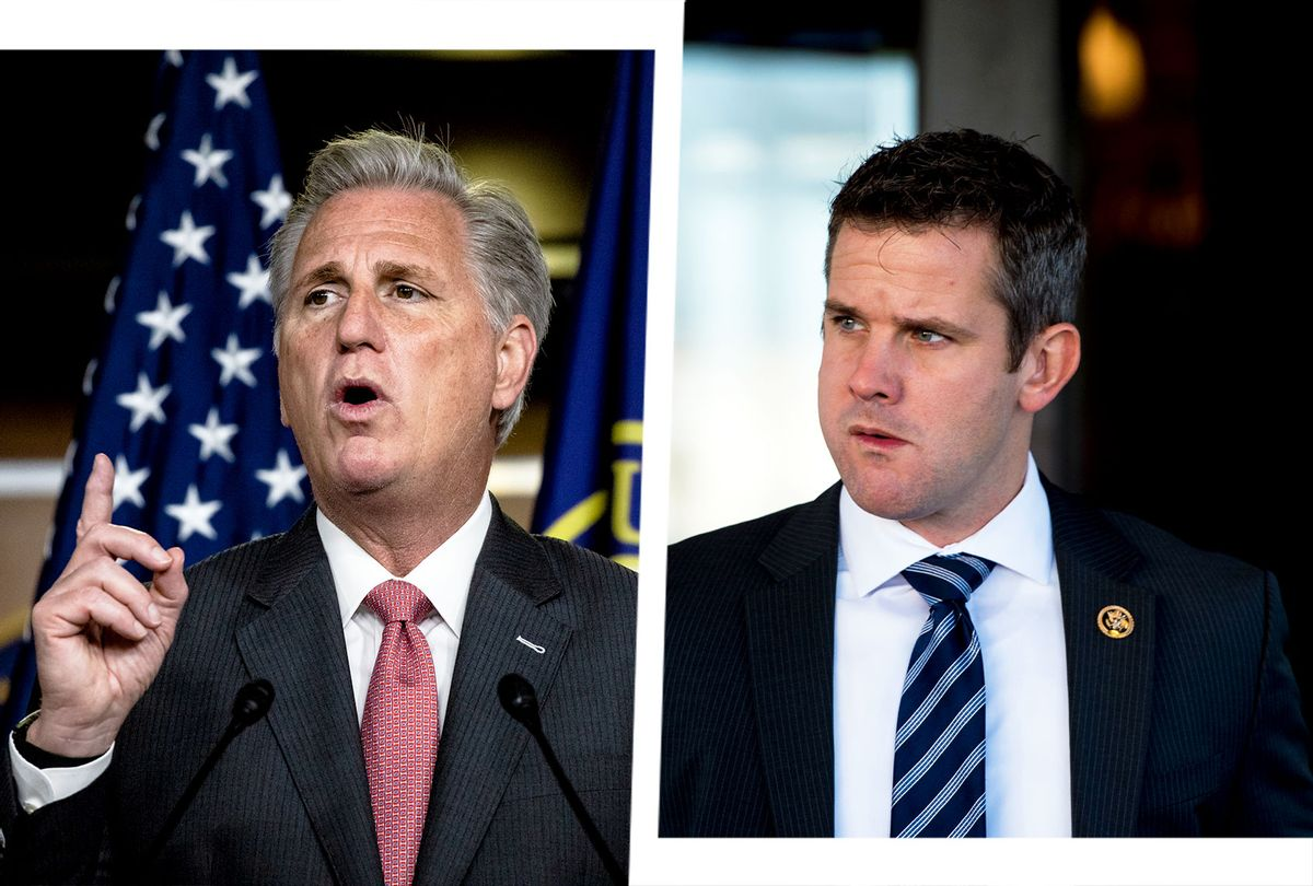 Kevin McCarthy and Adam Kinzinger (Photo illustration by Salon/Getty Images)