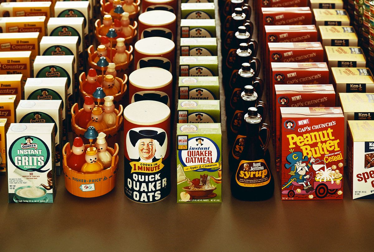 Variety of packaged food (Getty Images/Archive Photos)