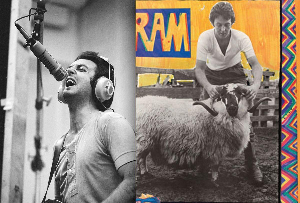 "Paul McCartney's album ""Ram"" remastered for its 50th Anniversary (Photo illustration by Salon/Paul McCartney/Linda McCartney/NastyLittleMan)"
