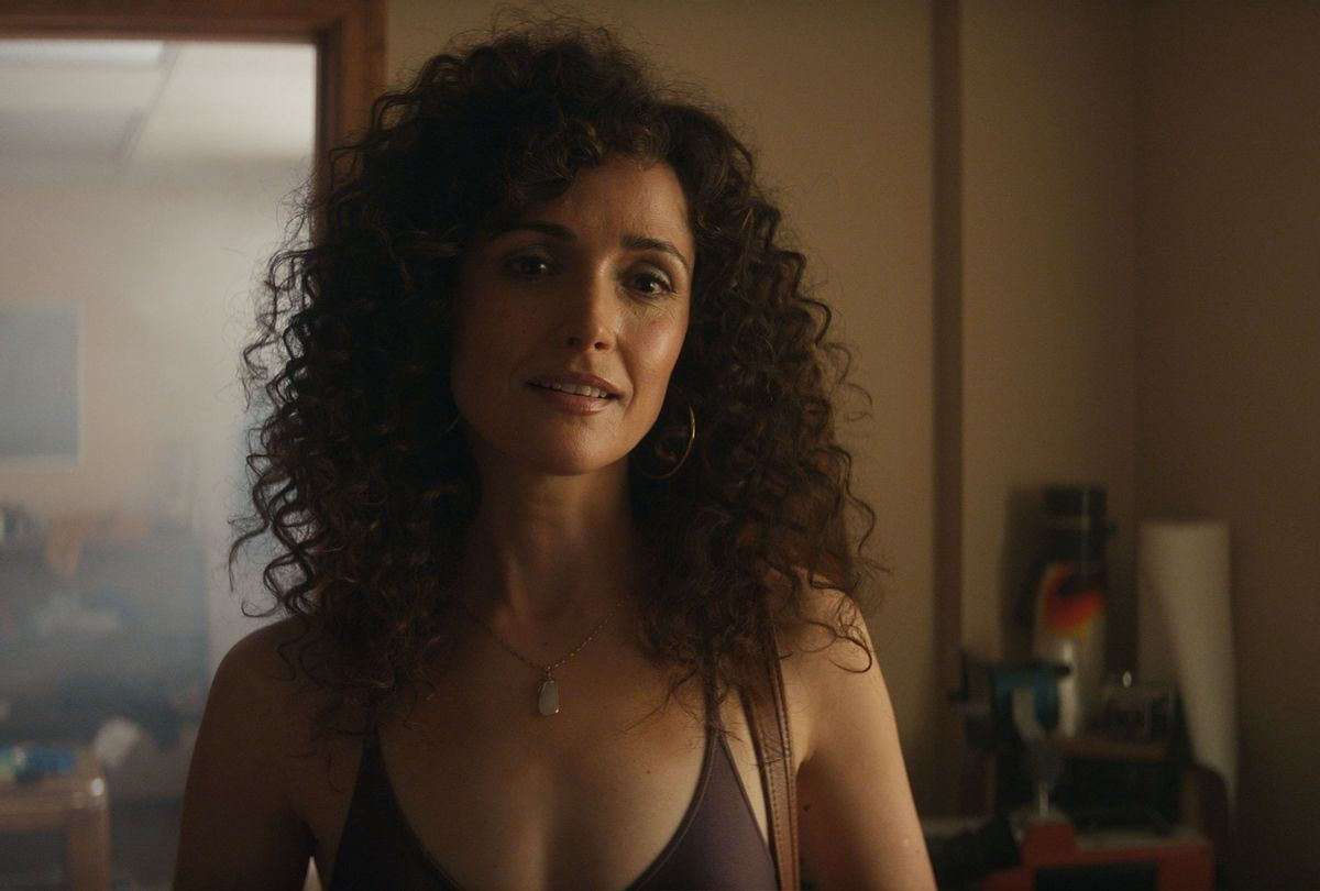 """Rose Byrne in """"Physical,"""" a new dramedy from creator Annie Weisman (Apple TV+)"""