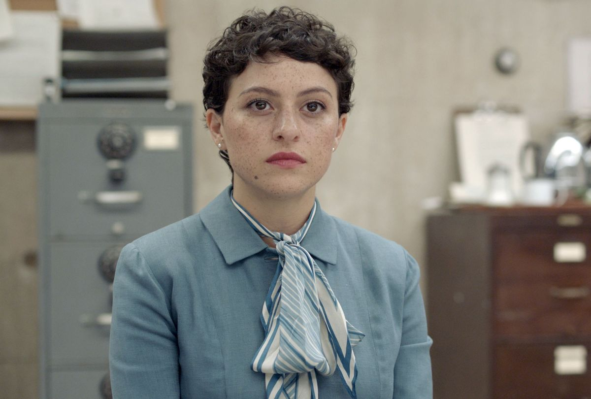 "Alia Shawkat in a reenactment in ""Pride"" (FX)"