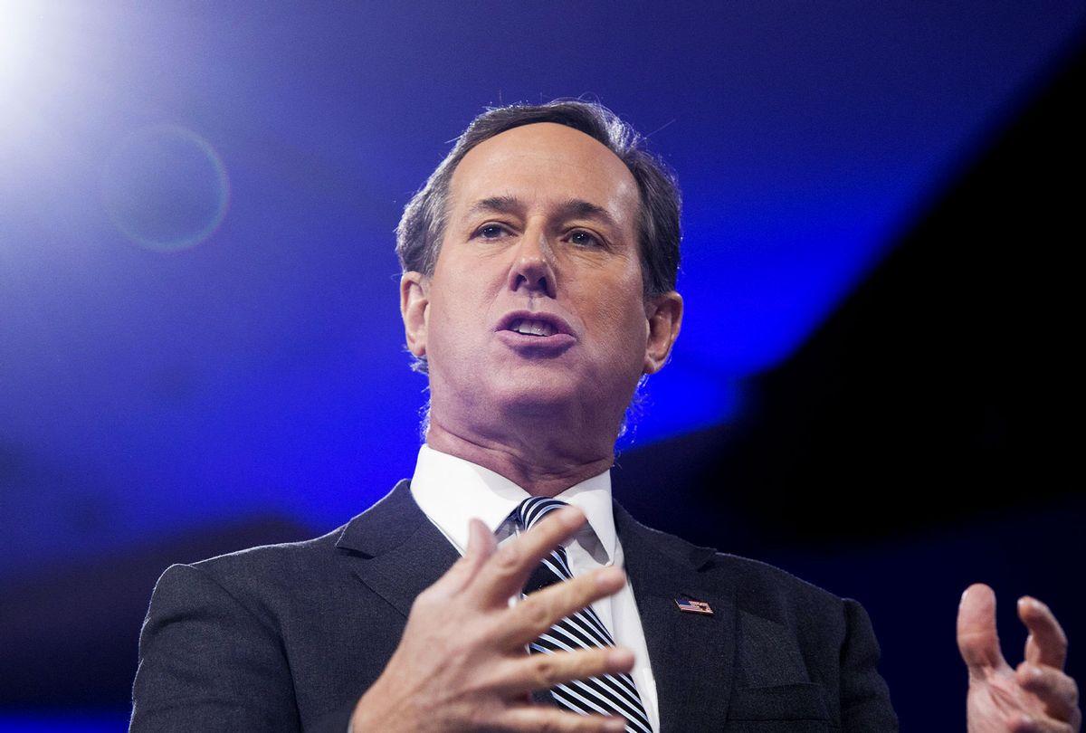 Rick Santorum (SAUL LOEB/AFP via Getty Images)