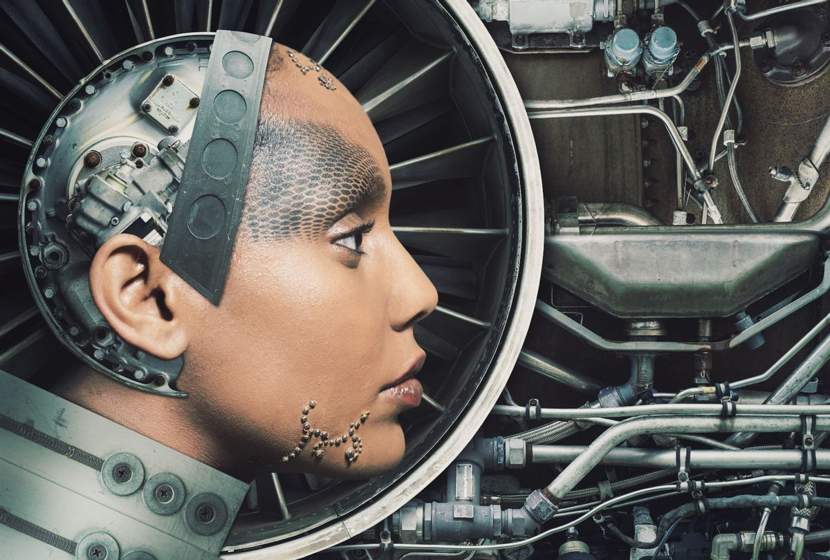 The female engine, woman as a machine (Getty Stock Photo)