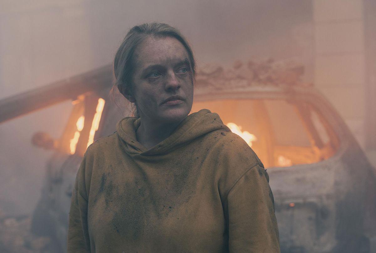 "Elisabeth Moss in ""The Handmaid's Tale"" (Hulu)"