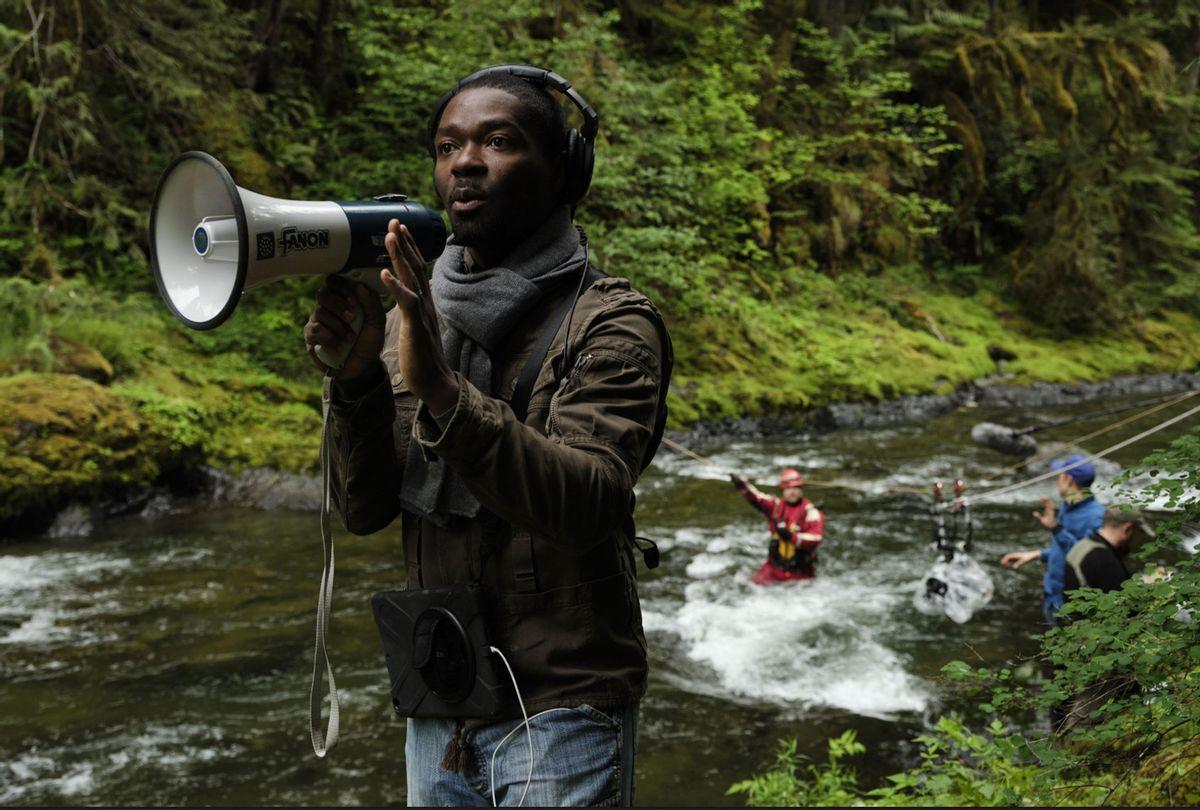 "David Oyelowo behind the scenes on ""The Water Man"" (Karen Ballard/RLJE Films)"