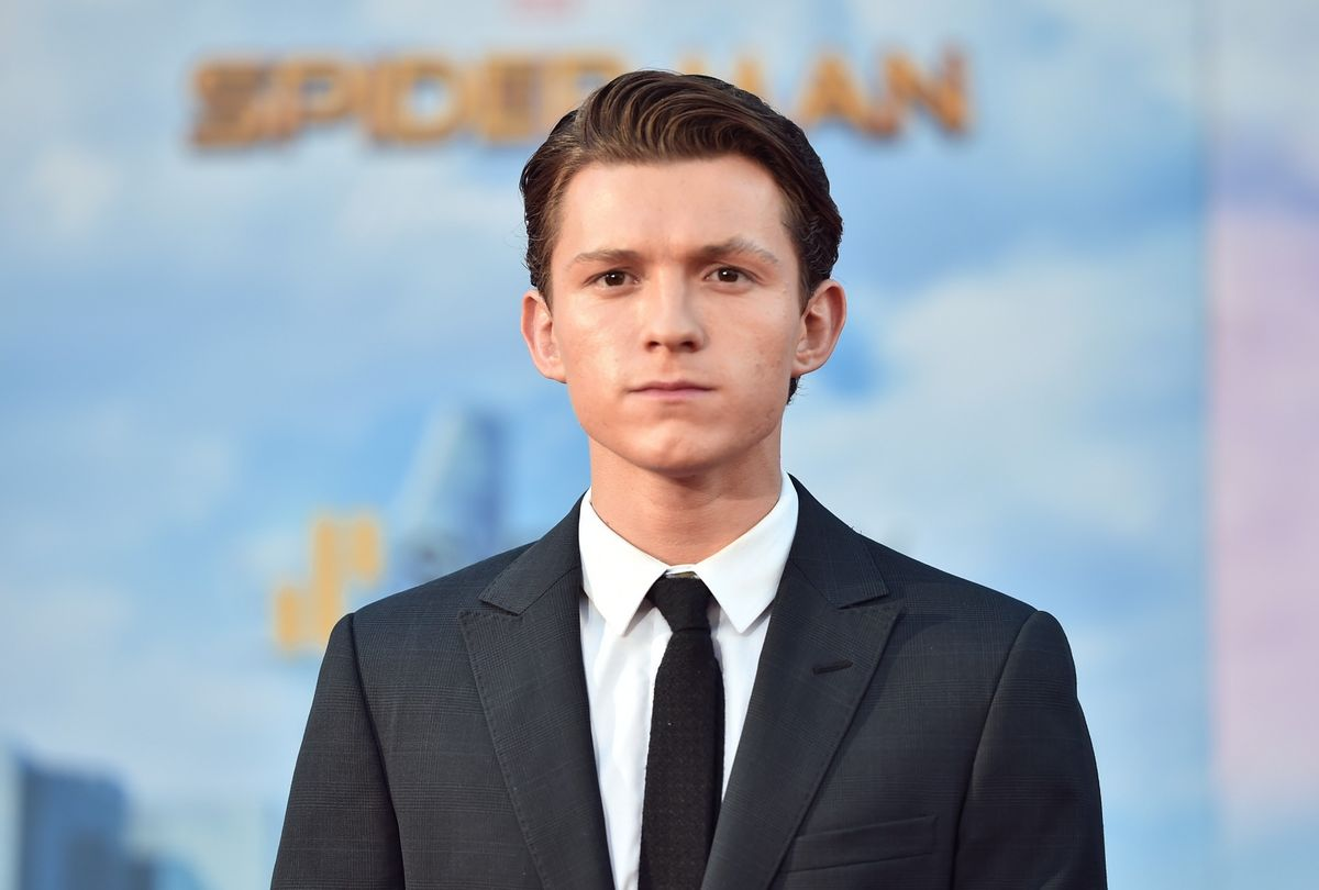 """Tom Holland at the """"Spider-Man: Homecoming"""" Hollywood premiere (Alberto E. Rodriguez/Getty Image)"""