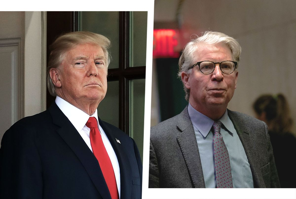 Donald Trump and Cyrus Vance (Photo illustration by Salon/Getty Images)