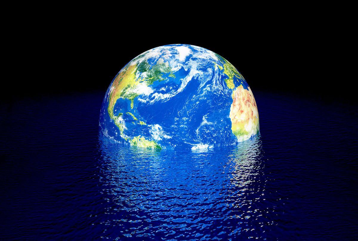 Rising sea levels, conceptual (Getty Images)
