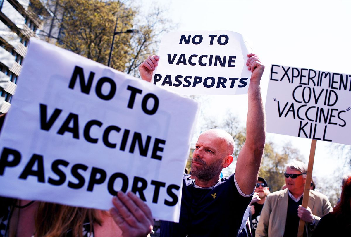 Millions of Americans view being anti-vaccination as a part of their social  identity | Salon.com