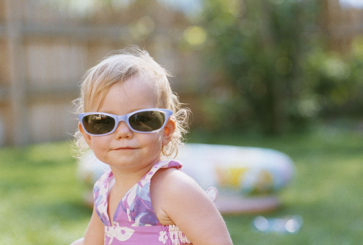 15-18 month old wearing glasses (Getty Images)