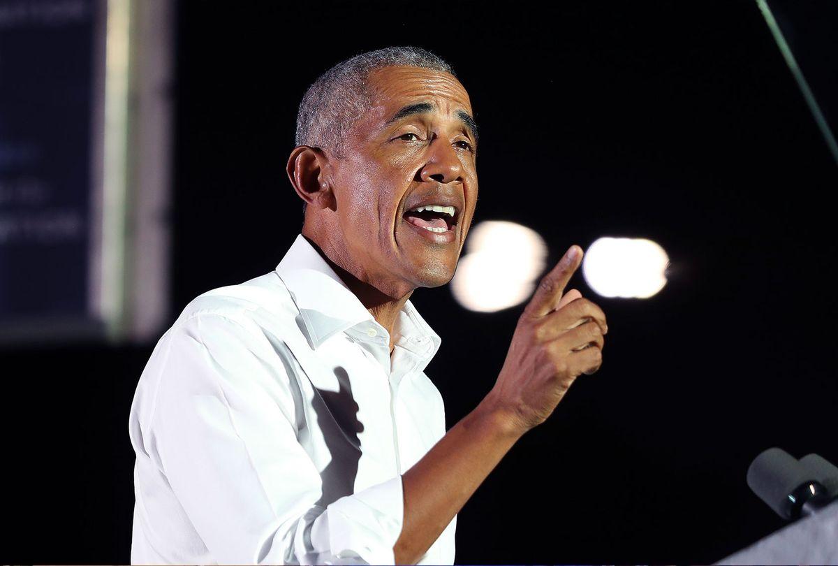 Former President Barack Obama (Joe Raedle/Getty Images)