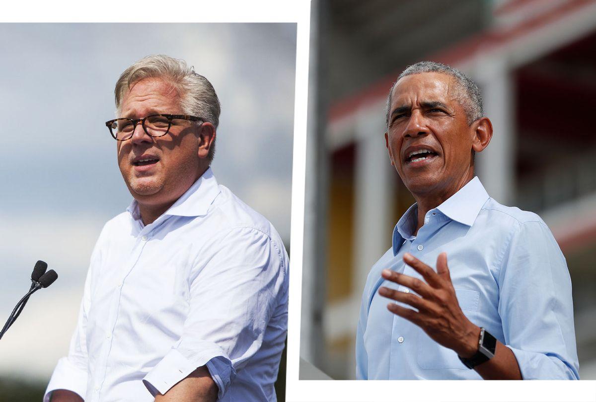 Glenn Beck and Barack Obama (Photo illustration by Salon/Getty Images)
