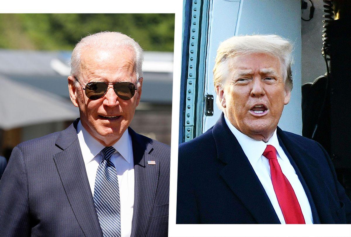 Joe Biden and Donald Trump (Photo illustration by Salon/Getty Images)