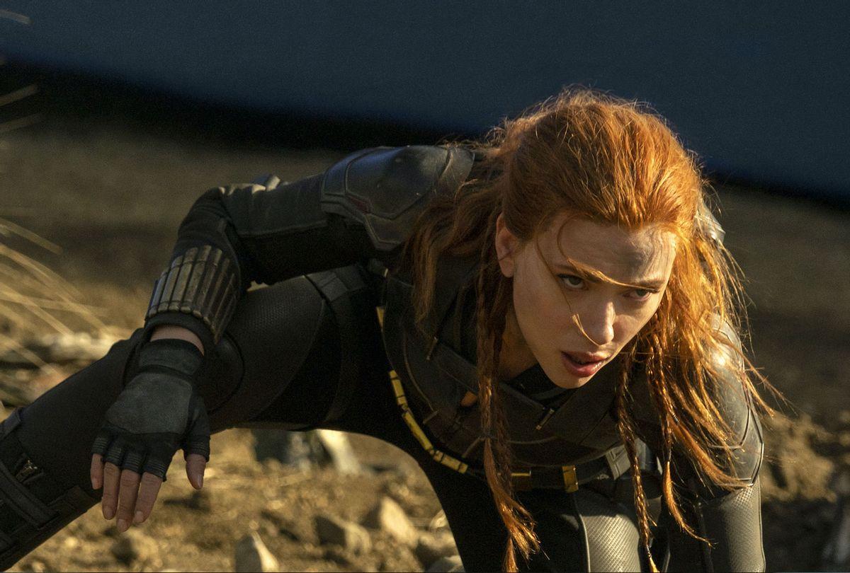 "Scarlett Johansson as Natasha Romanoff in ""Black Widow"" (Disney+/Marvel Studios)"