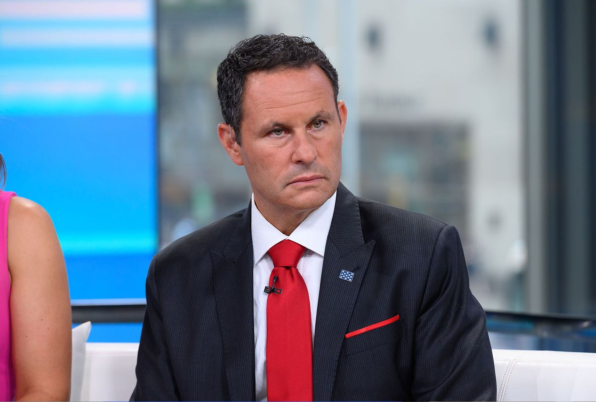 Brian Kilmeade is seen on set of Fox & Friends at Fox News Channel Studios on September 10, 2019 in New York City. (Noam Galai/Getty Images)