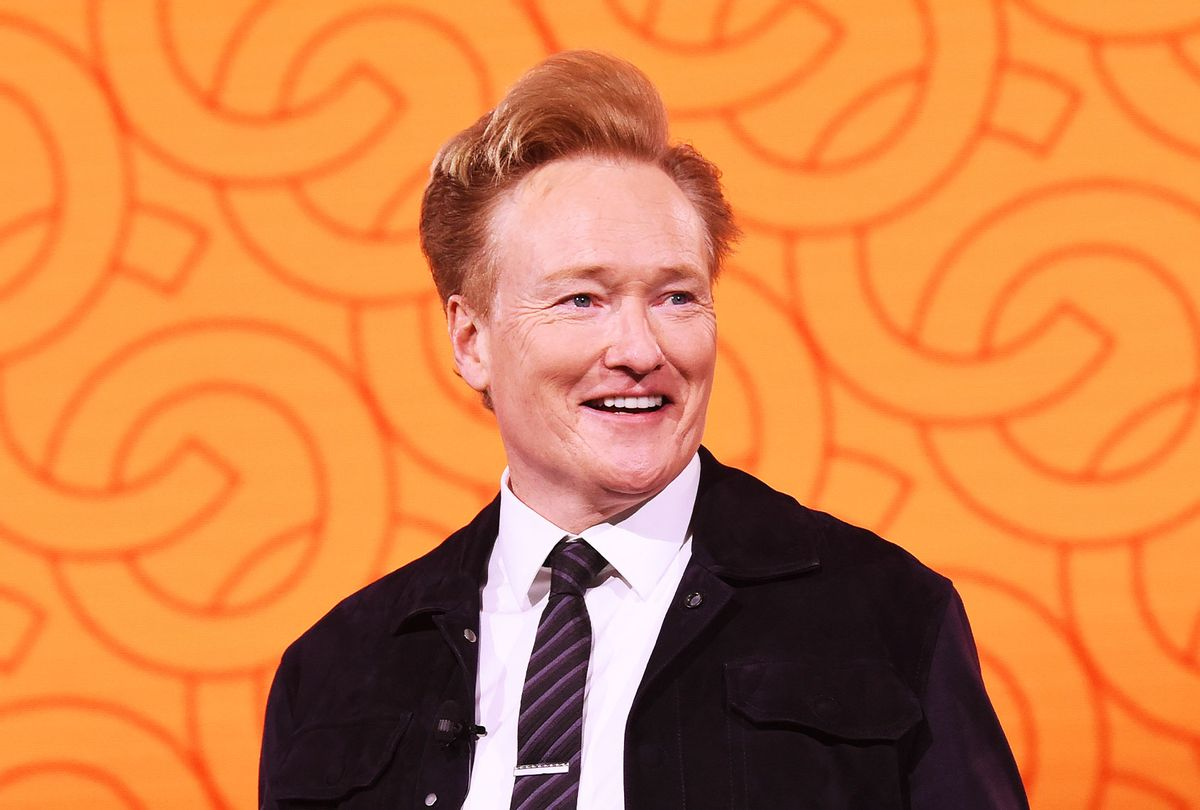 Conan O'Brien of TBS's CONAN speaks onstage during the WarnerMedia Upfront 2019 show at The Theater at Madison Square Garden on May 15, 2019 in New York City. (Kevin Mazur/Getty Images for WarnerMedia)