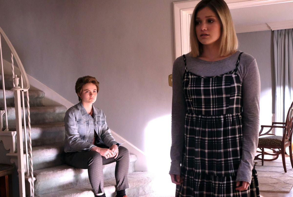 "Chiara Aurelia and Olivia Holt in ""Cruel Summer"" (Freeform)"