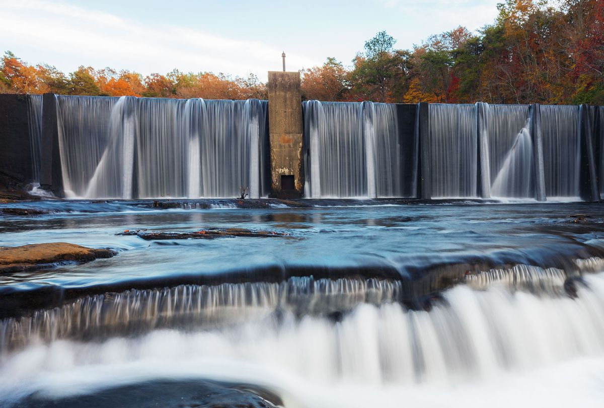 Desoto State park dam (Getty Images)