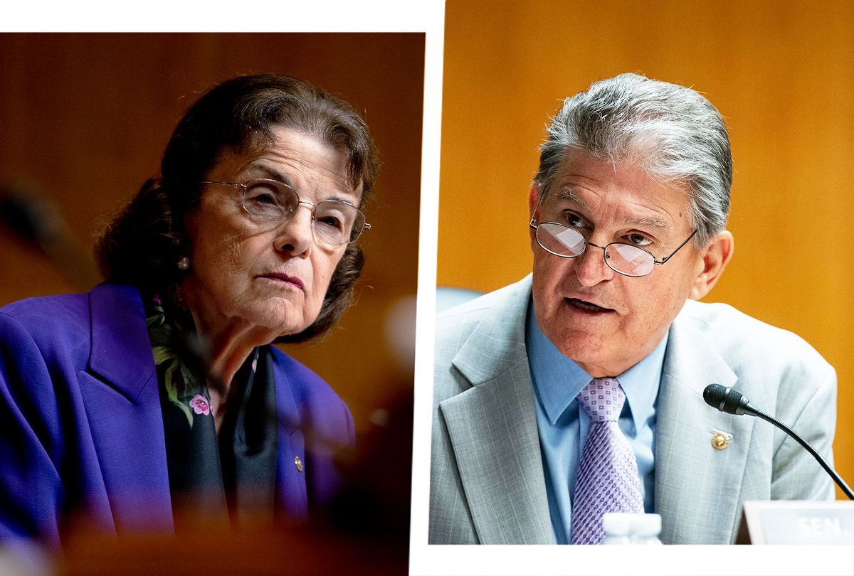 Dianne Feinstein and Joe Manchin (Photo illustration by Salon/Getty Images)