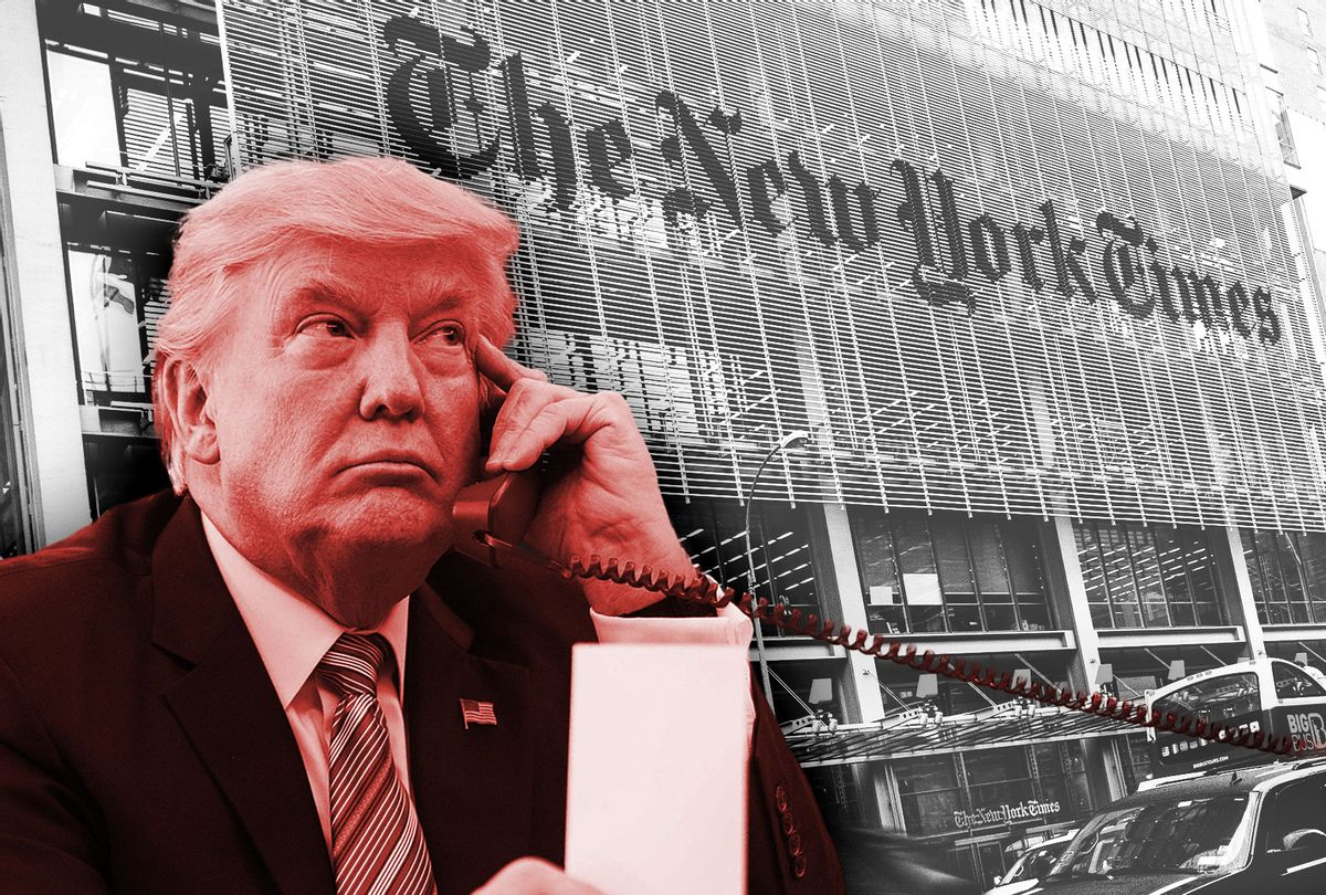 Donald Trump   New York Times (Photo illustration by Salon/Getty Images)