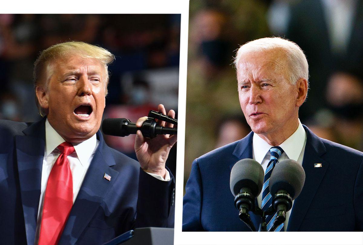 Donald Trump and Joe Biden (Photo illustration by Salon/Getty Images)