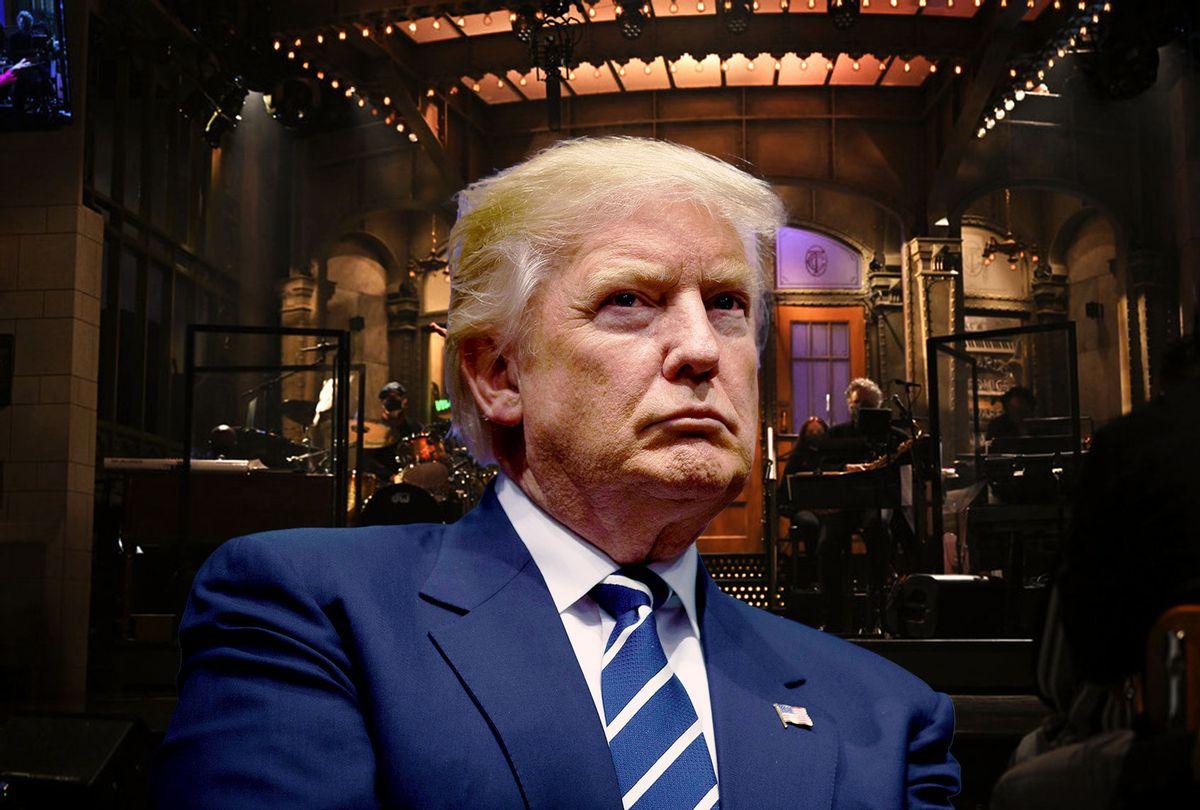 Donald Trump (Photo illustration by Salon/Getty Images/Drew Angerer/Will Heath/NBC)