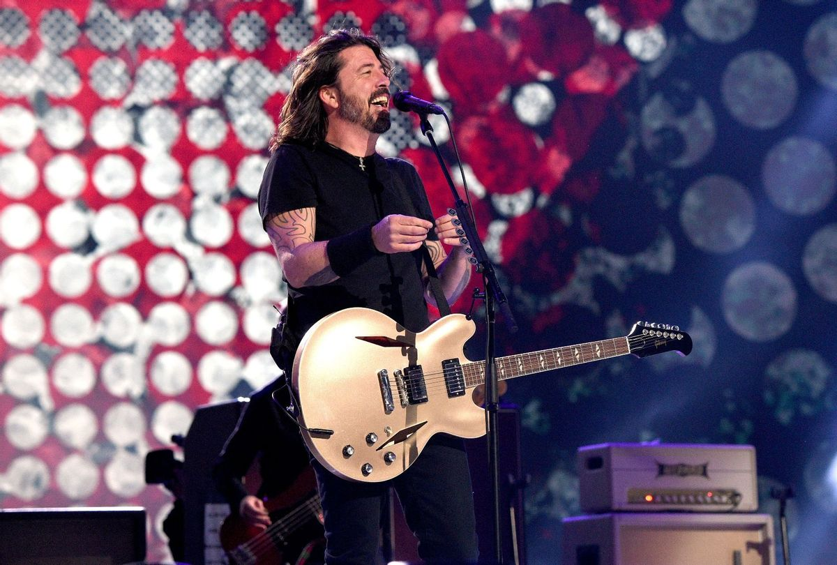 Dave Grohl of Foo Fighters at Global Citizen VAX LIVE: The Concert To Reunite The World  (Kevin Mazur/Getty Images for Global Citizen VAX LIVE)