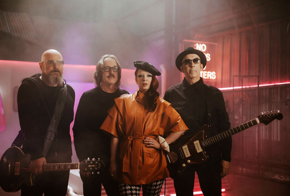The band Garbage (Maria Jose Govea)
