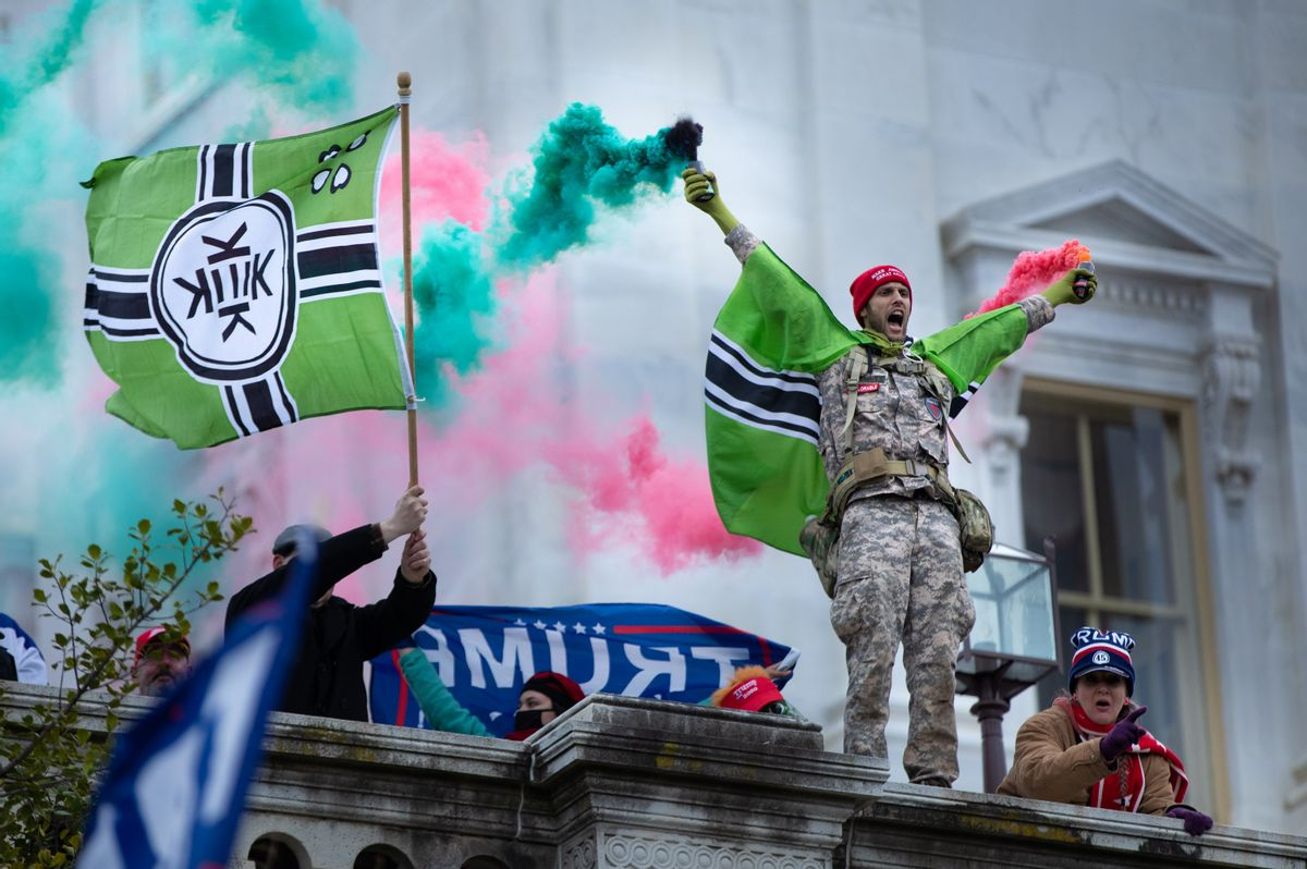Pro-Trump protesters storm the U.S. Capitol on Jan. 6, 2021. (Getty Images)