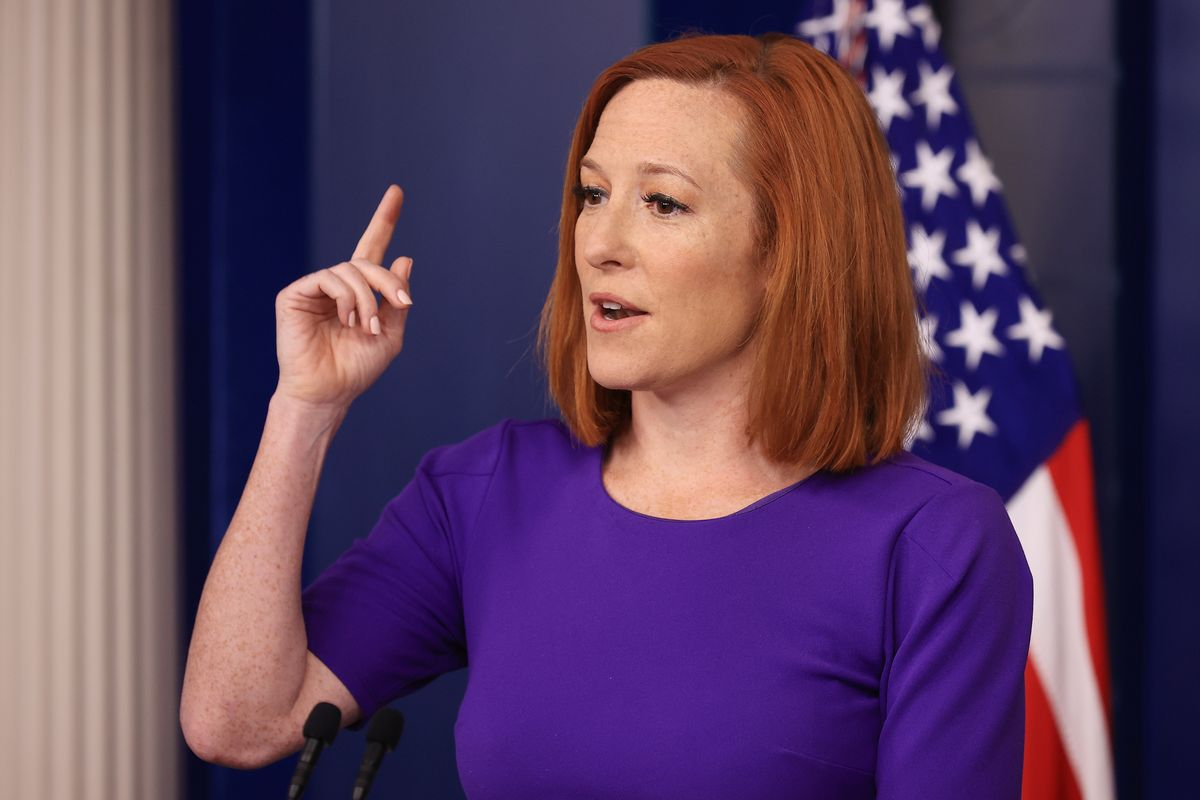 White House press secretary Jen Psaki (Getty Images)