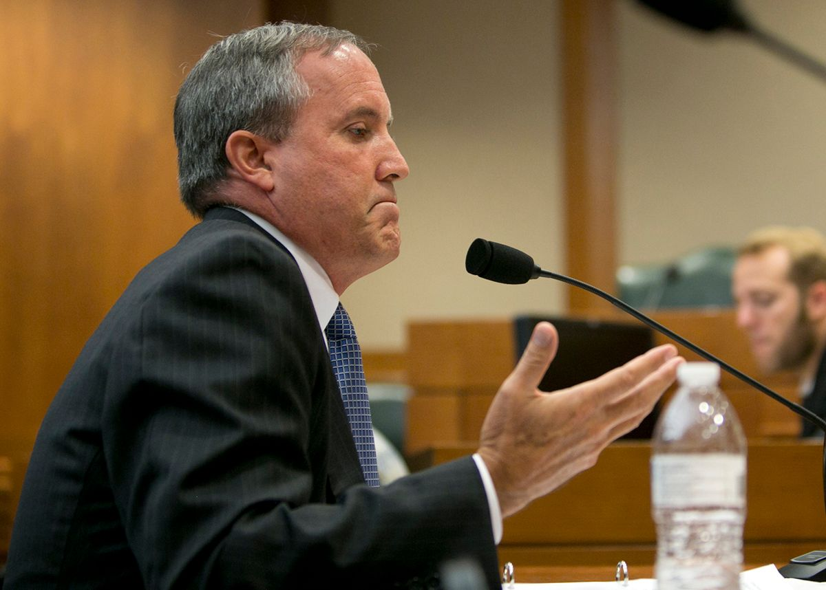 Texas Attorney General Ken Paxton (Getty Images)