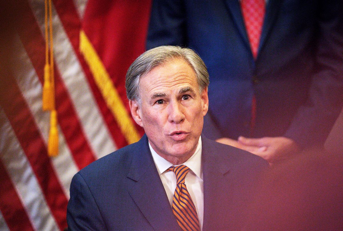 Texas Governor Greg Abbott (Montinique Monroe/Getty Images)