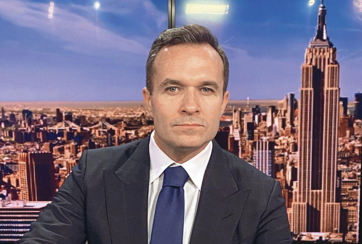 Broadcaster Greg Kelly (Newsmax TV)