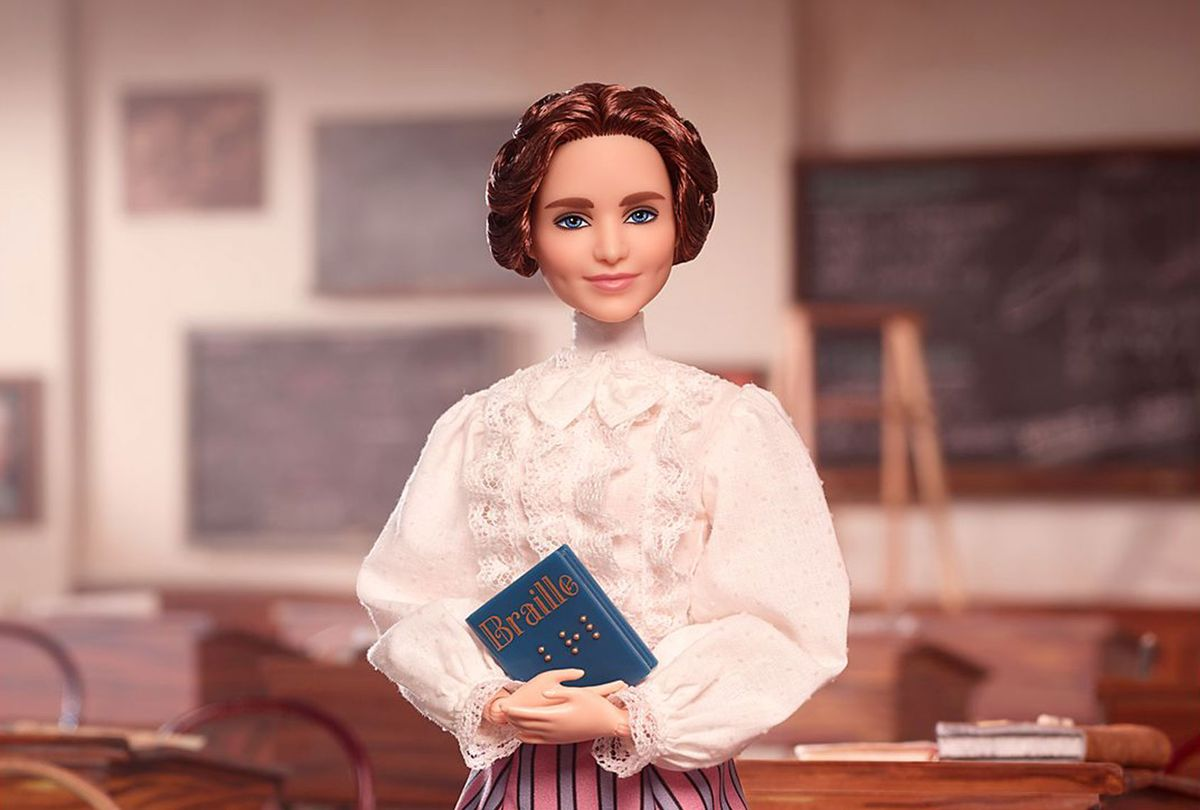 Barbie version of Helen Keller (Mattel)