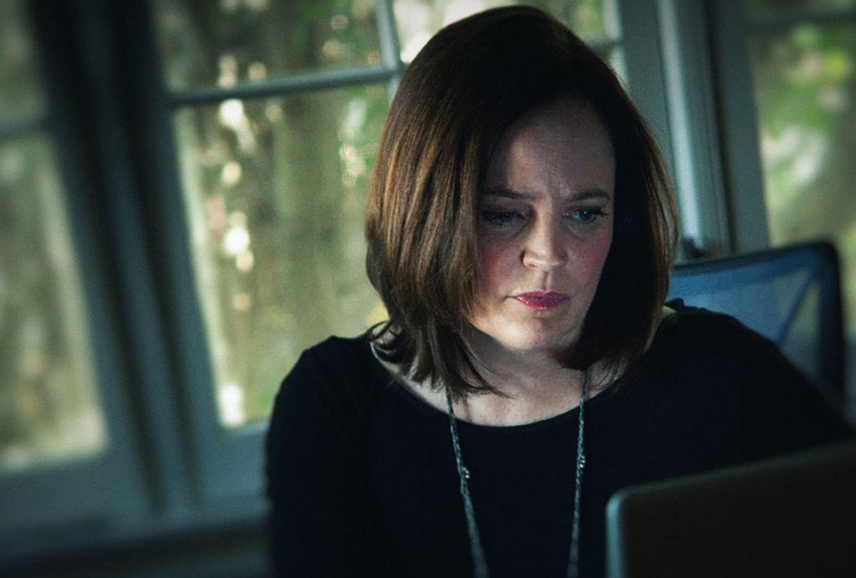 "Michelle McNamara in ""I'll Be Gone in the Dark"" (HBO)"