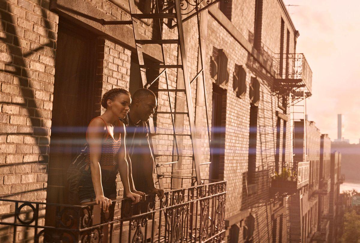 "Leslie Grace and Corey Hawkins in ""In the Heights"" (Warner Bros.)"