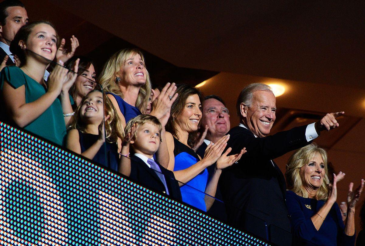 Joe Biden and his family (Kevork Djansezian/Getty Images)