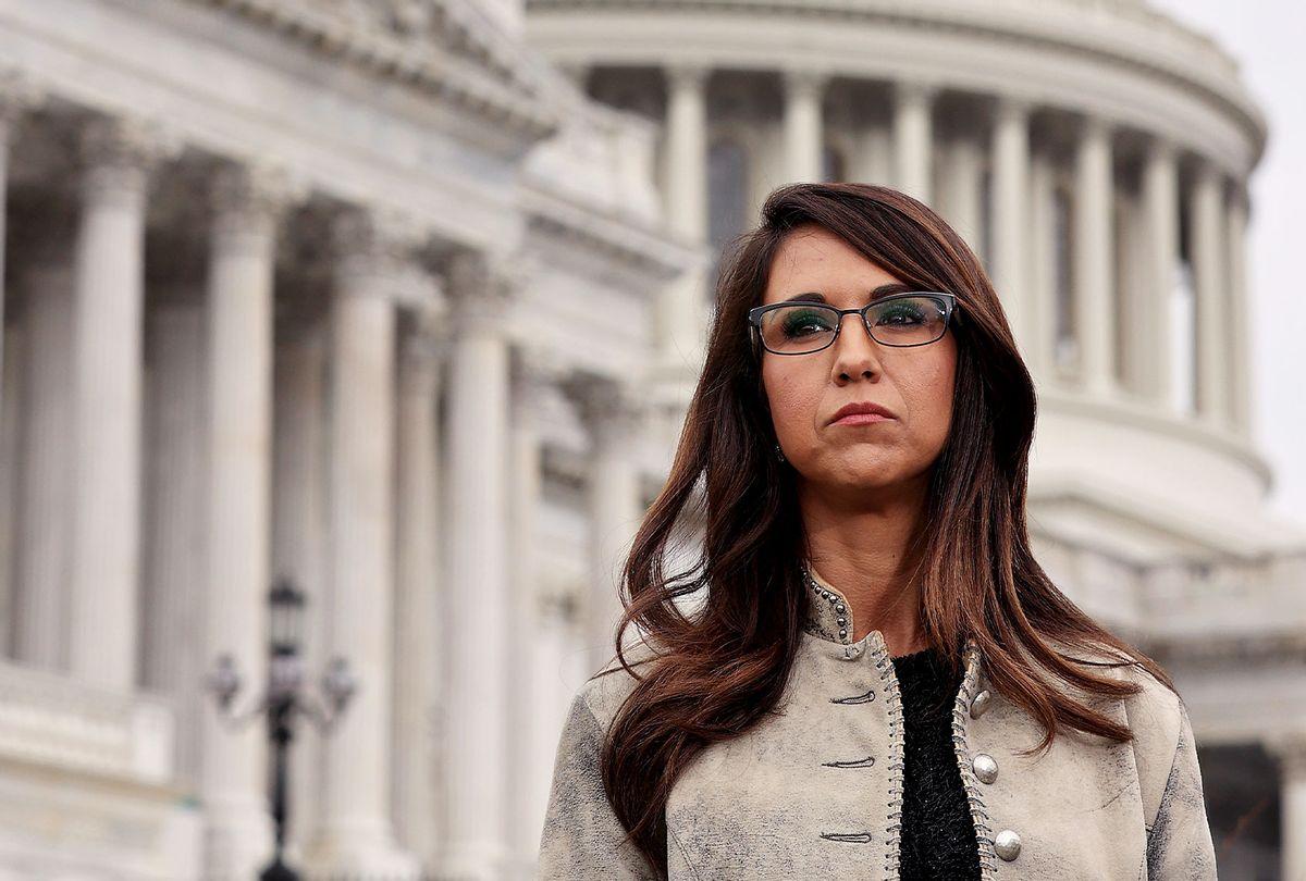 Rep. Lauren Boebert (R-CO) (Chip Somodevilla/Getty Images)