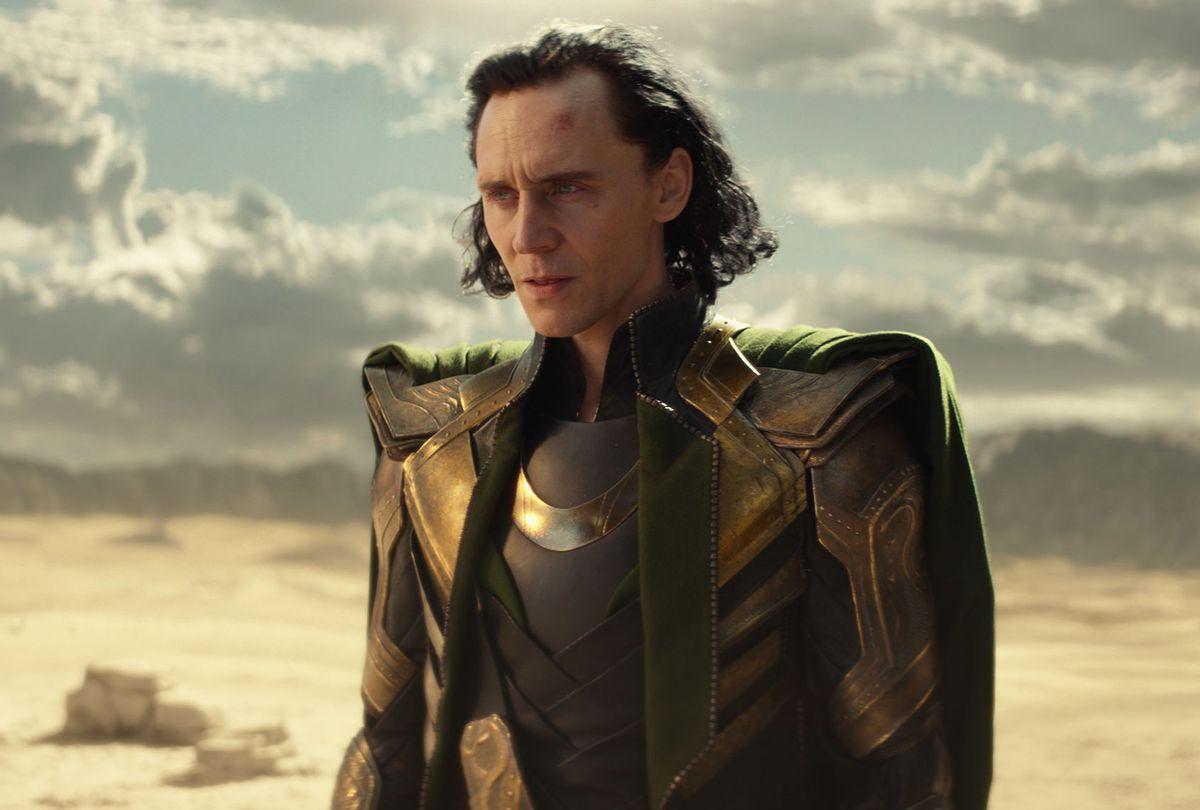 "Tom Hiddleston in ""Loki"" (Marvel Studios/Disney+)"