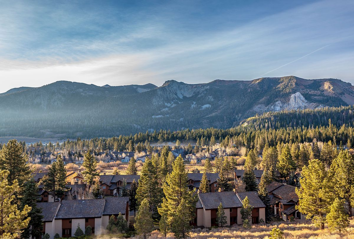 Mammoth Lakes is a town in California's Sierra Nevada mountains. It's known for the Mammoth Mountain and June Mountain ski areas and nearby trails.Mammoth Lakes is a town in California's Sierra Nevada mountains. It's known for the Mammoth Mountain and June Mountain ski areas and nearby trails. ( iStock / Getty Images)