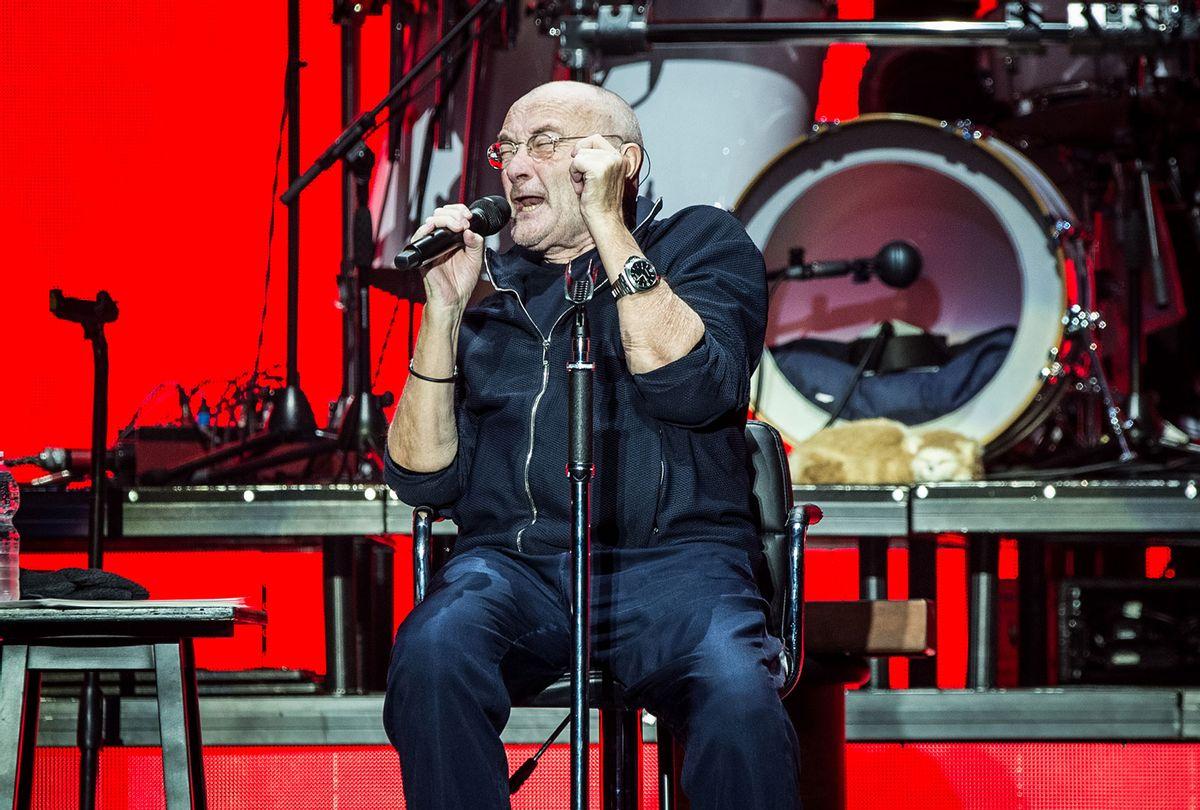 Phil Collins live on stage for his Still Not Dead Yet Live tour in 2019 (Elena Di Vincenzo/Archivio Elena Di Vincenzo/Mondadori via Getty Images)