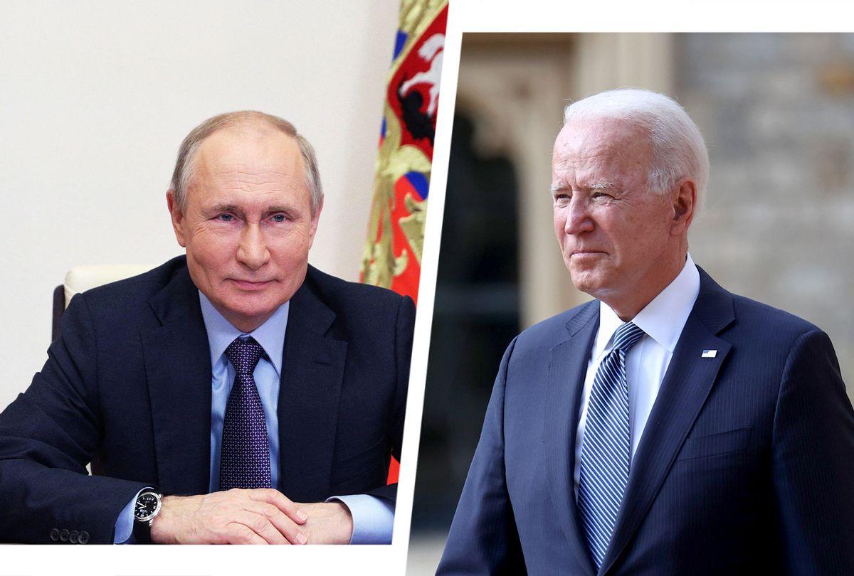 Vladimir Putin and Joe Biden (Photo illustration by Salon/Getty Images)