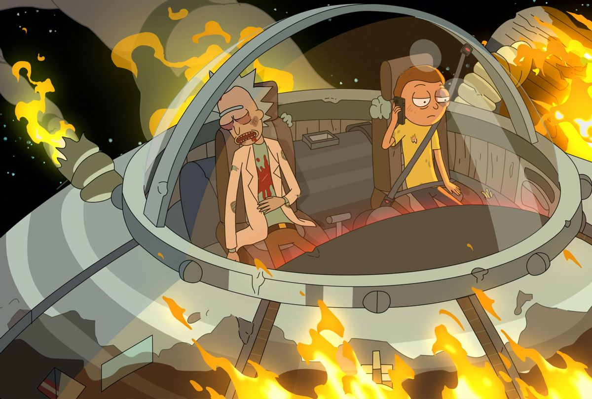 """""""Rick and Morty,"""" resistance heroes, face a new nemesis channeling our current uncertainties"""