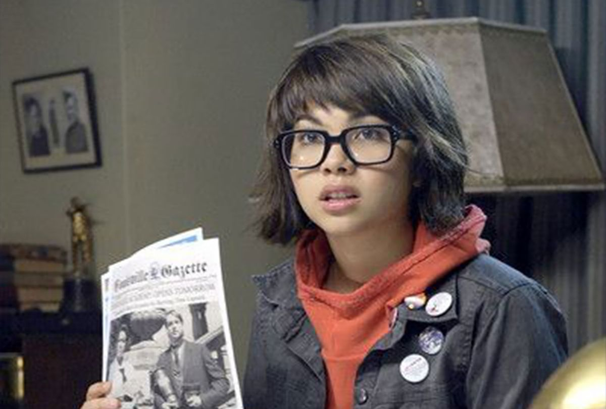 """Hayley Kiyoko as Velma Dinkley in """"Scooby-Doo! The Mystery Begins"""" (2009) (Warner Bros.)"""