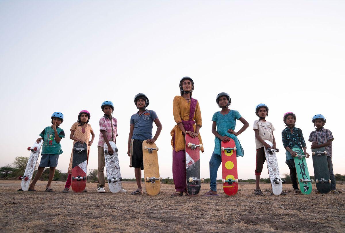 Skater Girl (Netflix/Kerry Monteen)
