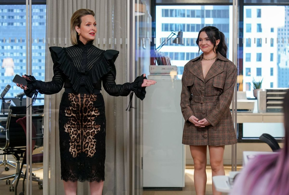 """Melora Hardin and Katie Stevens in """"The Bold Type"""" (Freeform)"""