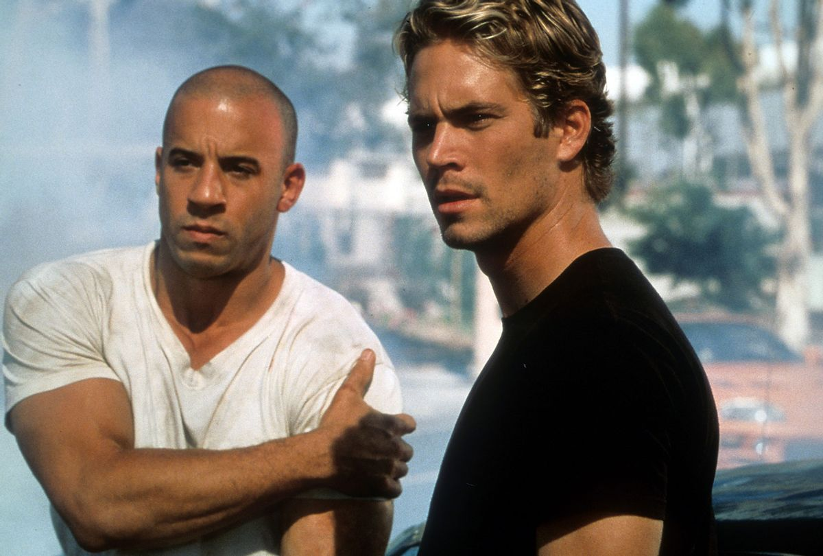 """Vin Diesel and Paul Walker in """"The Fast and the Furious"""" (Universal/Getty Images)"""
